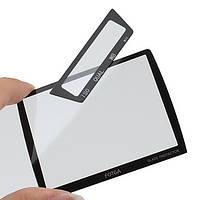Защита основного и вспомогательного LCD экрана FOTGA для NIKON D3 - стекло