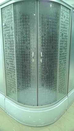 Гидромассажный бокс BADICO ECO 98007 Flo 90х90х212 с глубоким поддоном, фото 2