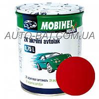 Автоэмаль двухкомпонентная автокраска акриловая (2К) VW LY3D Tornado Rot Mobihel, 0,75 л