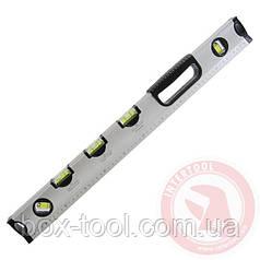 Рівень спеціальний 600 мм, 5 вічок INTERTOOL МТ-1006
