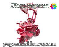 Детский трехколесный велосипед Panda Pink