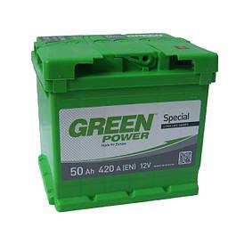 Аккумулятор Green Power 6СТ-50Ач/420А(EN) (-/+)