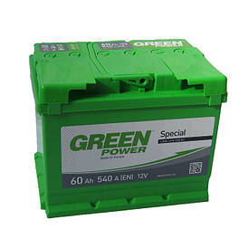 Аккумулятор Green Power 6СТ-60Ач/540А(EN) (+/-)