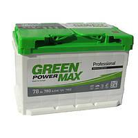 Аккумулятор Green Power Max 6СТ-78Ач/780А(EN) (-/+)