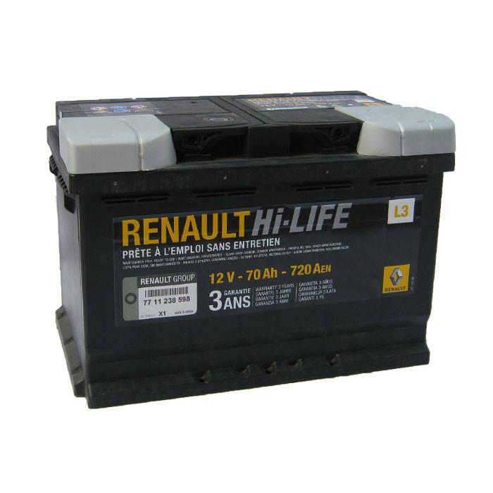 Аккумулятор Renault Hi-Life L3 70Ah 720Aen (-/+), фото 2