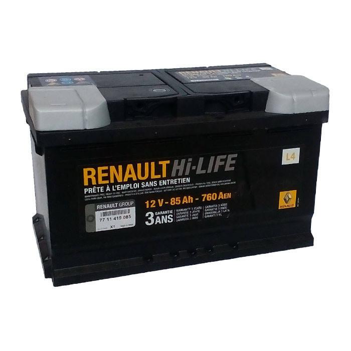 Аккумулятор Renault Hi-Life L4 85Ah 760Aen (-/+), фото 2