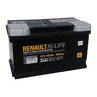 Аккумулятор Renault Hi-Life L4 85Ah 760Aen (-/+)