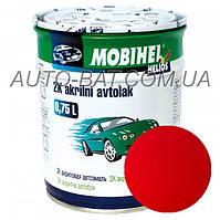Автоэмаль двухкомпонентная автокраска акриловая (2К) Mazda NU Vintage Red  Mobihel, 0,75 л