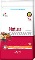 Trainer Natural Adult Medium With Chicken Rice & Aloe Vera 12.5кг Корм для собак средних пород