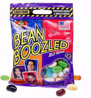 Конфеты Bean Boozled Бин Бузлд бобы в пакетике!  54 грамм (50-53 шт), Jelly Belly США