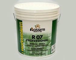 Краска для внутренних работ R07 PROFESSIONAL 15Л. Rossetti