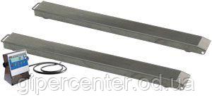 Весы реечные нержавеющие пыле-влагоустойчивые ТВ4-1000-0,2-Р(1200х90)-12h до 1000кг.