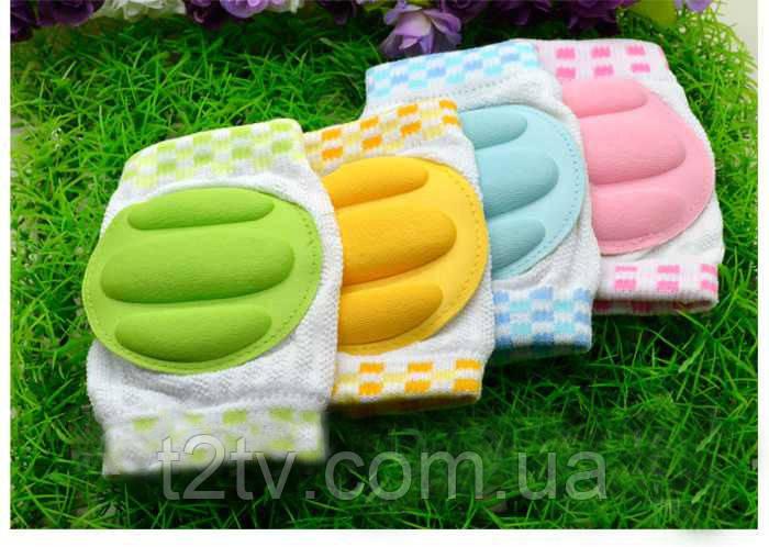 Детские наколенники для ползания с мягкими подушечками