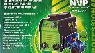 Сварочный инверторный аппарат NVP MMA 305, фото 2