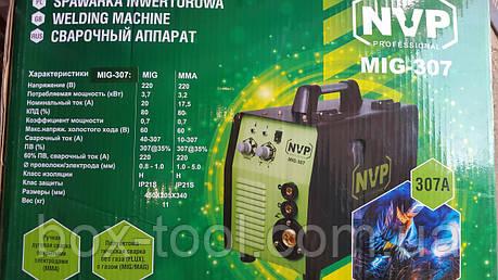 Сварочный полуавтомат инверторного типа NVP MIG 307, фото 2
