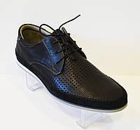 Черные мужские туфли Badura 2885
