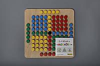 Мозаика деревянная 101 элемент