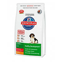 Hills puppy medium chicken для щенков средних пород - 12кг