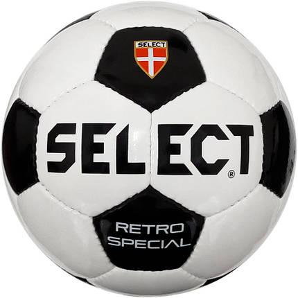 Мяч футбольный SELECT Retro Special, р. 3, фото 2