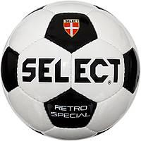 Мяч футбольный SELECT Retro Special, р. 3