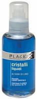 Black Жидкие кристаллы с экстрактом семени льна для тонких и мягких волос Голубые 100 мл