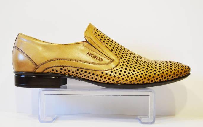 Бежевые мужские туфли Nord 7623, фото 2
