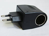 Переходник сеть/прикуриватель 220/12V (модель-2), фото 1