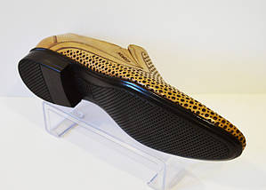 Бежевые мужские туфли Nord 7623, фото 3