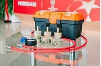 Оборудование для заправки газо-масляных амортизаторов
