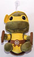 """Мягкая игрушка """"Микеланджело"""" черепашка-ниндзя на присоске TMNT Michelangelo"""
