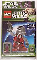 """Фигурка-конструктор для детей 5-12 лет """"Звездные войны. Ситх-штурмовик"""" LEBQ Star Wars Sith Trooper № 1674"""