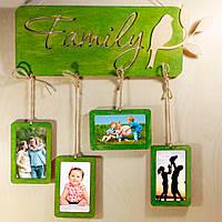 Фоторамка Family green