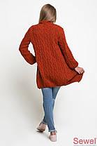 Женский  кардиган терракот (р. УН) арт. XW346, фото 2