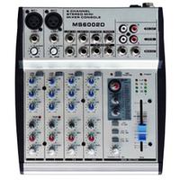 Микшерный пульт BIG MS6002D 2моно+2стерео+EQ-3п+16эфектов+фантом