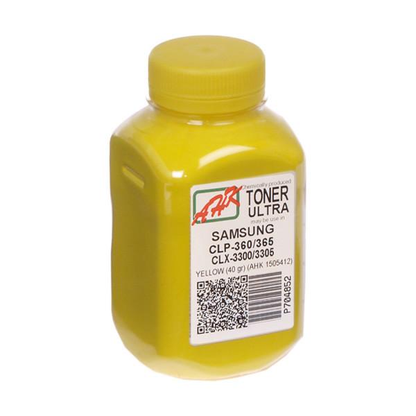 Тонер АНК Samsung CLP-360/365/CLX-3300/3305 бутль 40г Yellow (1505412) Ultra color