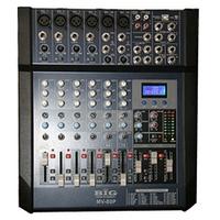 Микшерный пульт BIG MV80 4моно+2стре+EQ-3п+310 Band Digital Effector\24bit+фантом
