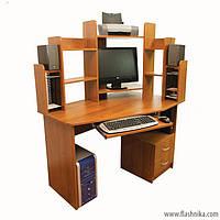 Компьютерный стол Ника 44 1200х800х1500 мм