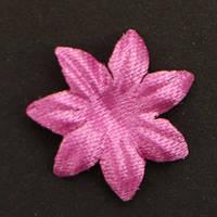 Цветок семилистник. Цвет - неоново-розовый Размер 17 мм
