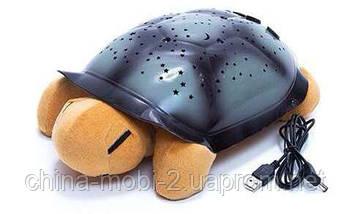 Музыкальный ночник-проектор  Звездного неба ЧЕРЕПАХА, Turtle, фото 3