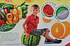 Мягкие надувные пуфики FRUIT POUF Арбуз, Апельсин, Danko Toys, FP-01-01, фото 4
