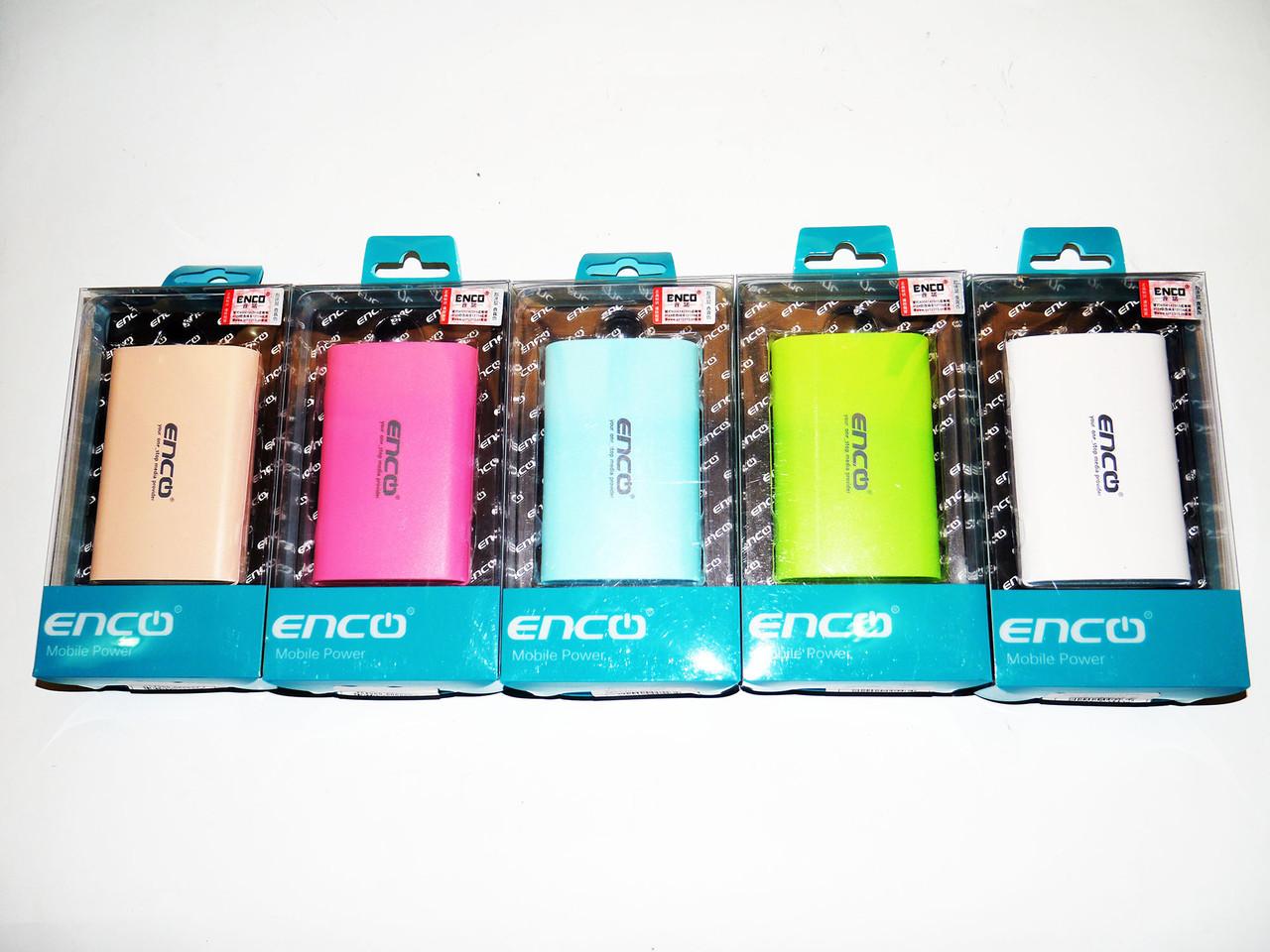 Enco Power Bank 8800mAh Внешний аккумулятор портативное зарядное устройство