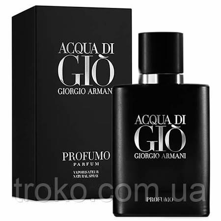 Acqua di Gio Profumo Giorgio Armani Black  - TROKO-обувь,аксессуары,парфюмерия. в Харькове