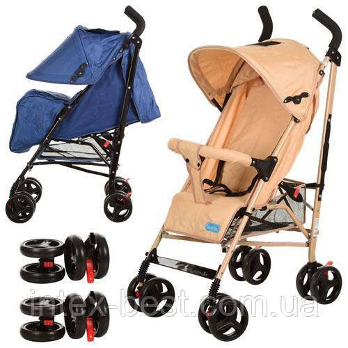 Детская коляска Bambi - M 2376BE (Бежевый)