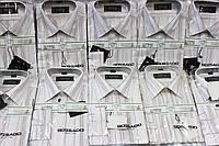 Рубашка мужская классическая светлая в полоску