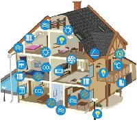 Монтаж систем умного дома