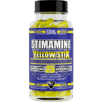 Жиросжигатель Stimamine Yellow Stix – 90 caps ECA 25 MG