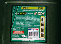Масло моторное OIL RIGHT М10Г2к SAE 30 CC (Канистра 10л)