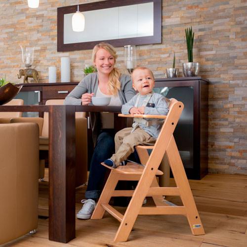 Деревянный  стульчик для кормления Hauck Alpha+ natural