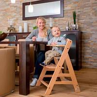Деревянный  стульчик для кормления Hauck Alpha+ natural, фото 1