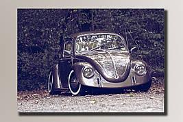"""Картина на холсте """"Volkswagen Beetle"""""""